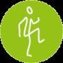 Icon Figur beim Zirkeltraining